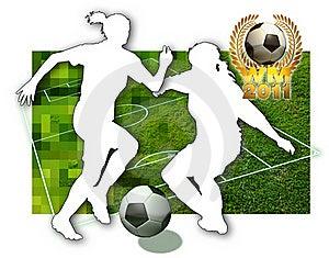 Soccer Girls Stock Photos - Image: 19751533