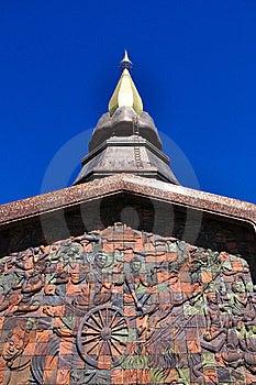 The Stupa Phra Mahathat Naphamethanidon Stock Images - Image: 19751784