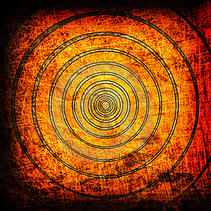 Orange Circles Grunge Backgrouns Stock Photos - Image: 19752713