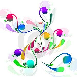 Twirl Flowers Stock Photo - Image: 19752850