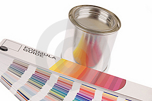 Color Guide Royalty Free Stock Image - Image: 19753246