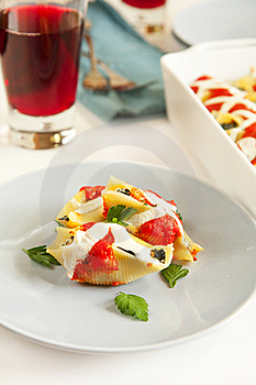 Stuffed Shells Stock Photos - Image: 19753593
