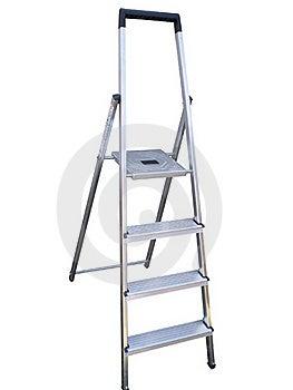 Aluminium Step Ladder Stock Images - Image: 19753714