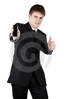Young Business Man Make Good Choice Stock Image - Image: 19754141