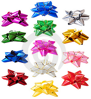 Bows Set | Isolated Stock Images - Image: 19755804