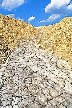 Mud Path Stock Photography - Image: 19756192