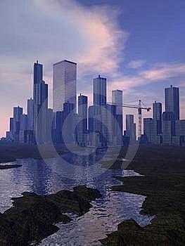 City Royalty Free Stock Photos - Image: 19756648