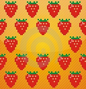 Background From Strawberries Stock Photos - Image: 19757823