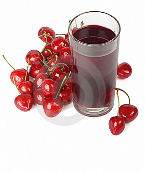 Cherry Nectar Royalty Free Stock Image - Image: 19763906