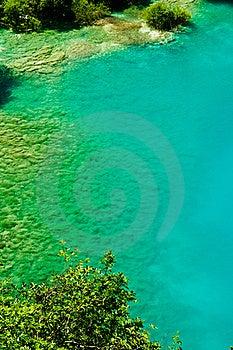 Peaceful Lake At Plitvice, Croatia Stock Images - Image: 19766044