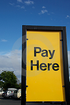 Pay Here Stock Images - Image: 19766494