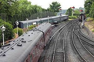 Traditional English Railway Station Stock Photography - Image: 19767632