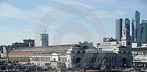 Kievsky Train Station Stock Images - Image: 19768824