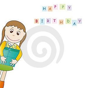 Birthday Card Royalty Free Stock Photos - Image: 19769418