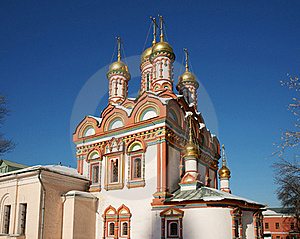 Monastery Russia Royalty Free Stock Photo - Image: 19769425