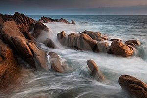 Rocky Coast Royalty Free Stock Photos - Image: 19769948