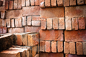 Brick Wall Grungy Stock Photos - Image: 19770173