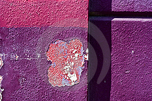 Peeling Wall Paint Stock Images - Image: 19771674