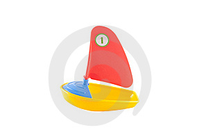 Toy Boat Stock Images - Image: 19771694