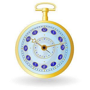 Golden Watch Stock Image - Image: 19773381