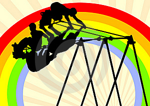 Swing Athletes Royalty Free Stock Photography - Image: 19774227