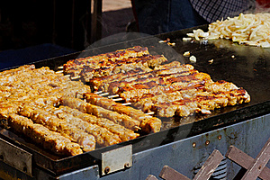 Kebabs Royalty Free Stock Images - Image: 19774319