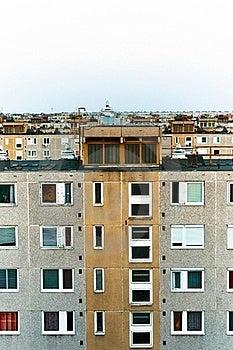 Panel Apartments Royalty Free Stock Image - Image: 19775066