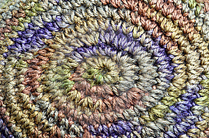 Colorful Yarn Weave Royalty Free Stock Image - Image: 19781116