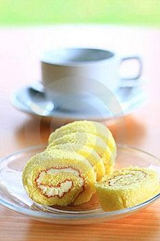 Cake Roll Royalty Free Stock Image - Image: 19781266