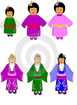 China Dolls Royalty Free Stock Photos - Image: 19781308