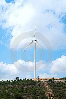 Wind Mill Power Generator Royalty Free Stock Photos - Image: 19781968
