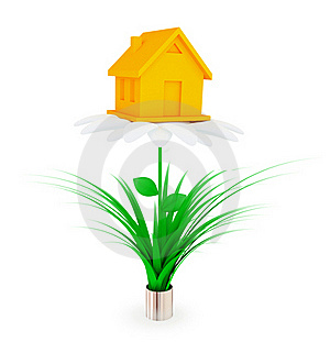Investments To Real Estate Concept. Stock Image - Image: 19784041