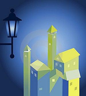 Night City Royalty Free Stock Image - Image: 19785066