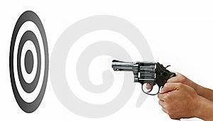 Shooting Gun Stock Image - Image: 19787171