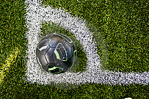 Corner Of Soccer Field Stock Photography - Image: 19788112