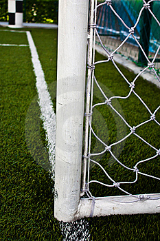 Football Field Goal Poles Stock Image - Image: 19788171