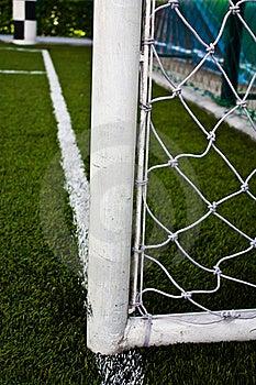 Football Field Goal Poles Stock Image - Image: 19788171
