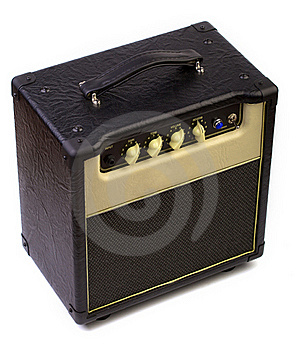 Guitar Amplifier Royalty Free Stock Photos - Image: 19792618