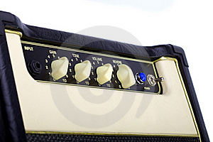 Guitar Amplifier Stock Photo - Image: 19792620