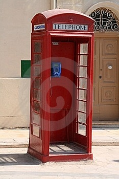 Malta Telephone Box Stock Images - Image: 19794744