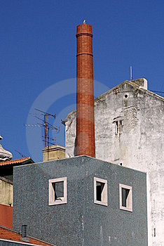 Renovated Factory Royalty Free Stock Image - Image: 19796856