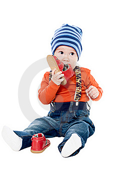 Little Boy In A Cap Royalty Free Stock Photo - Image: 19797205