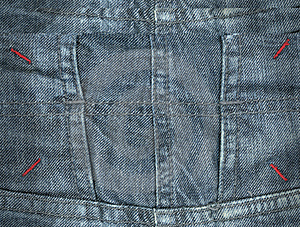 Jeans Texture Stock Images - Image: 19798564
