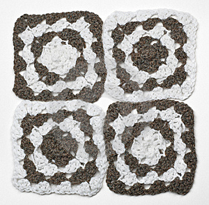 Knitted Monochrome Pattern Stock Image - Image: 19799231