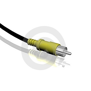 HDTV Cable Royalty Free Stock Photography - Image: 19799357