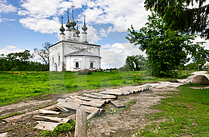 Traditional Russian Church In Ancient Town Suzdal. Stock Photography - Image: 19799952
