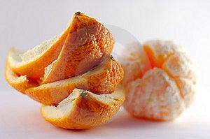 Orange Peel With Orange On The Background Stock Photos - Image: 1980323