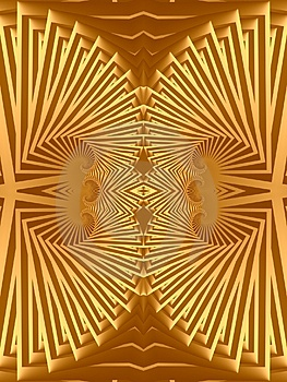 Egyptian Gold Jewelry Design Royalty Free Stock Image - Image: 1983176