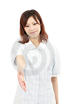 Young Asian Pretty Smiling Nurse Stock Images - Image: 19802844