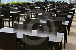 Tables And Chairs Royalty Free Stock Images - Image: 19805089